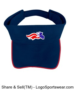 Patriot logo running visor Design Zoom